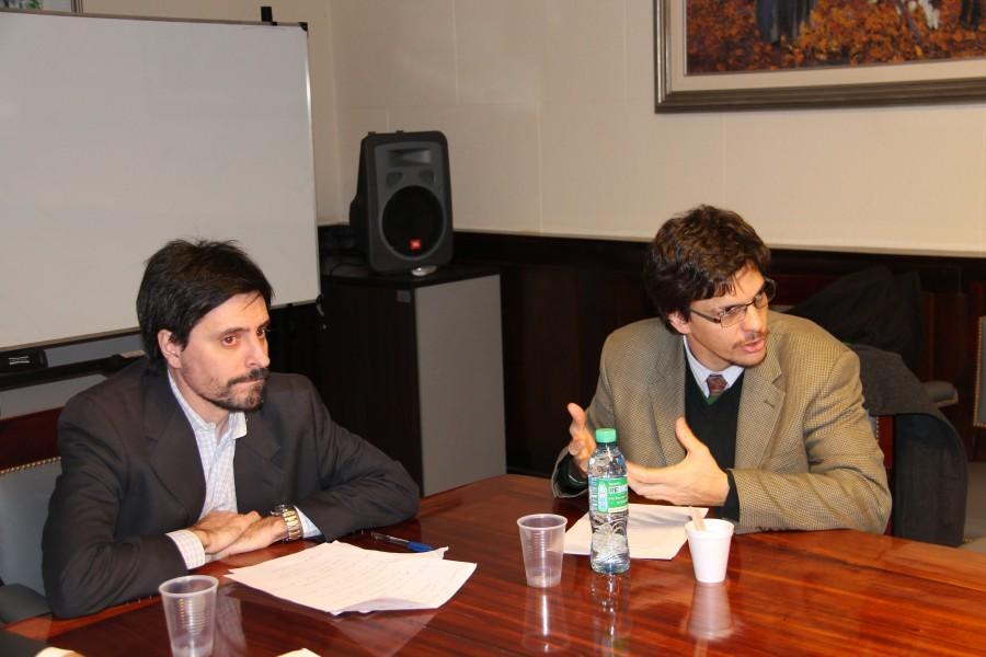 Rodrigo Borda y Leonardo Filippini