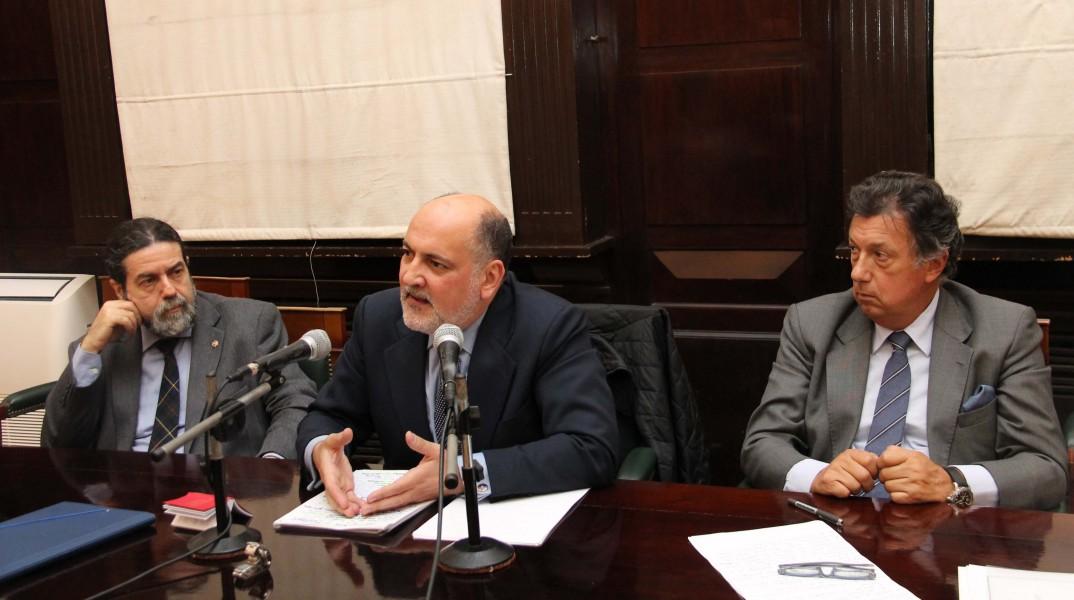 Ricardo Rabinovich-Berkman, Francisco Pérez de los Cobos y Alberto Dalla Via