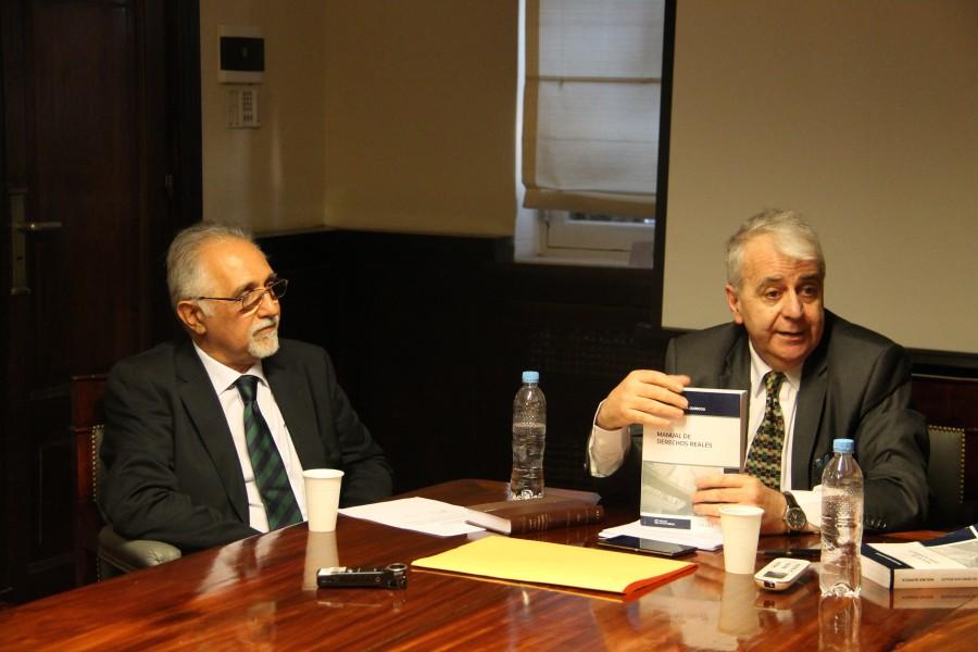 Eduardo Molina Quiroga y Federico De Lorenzo
