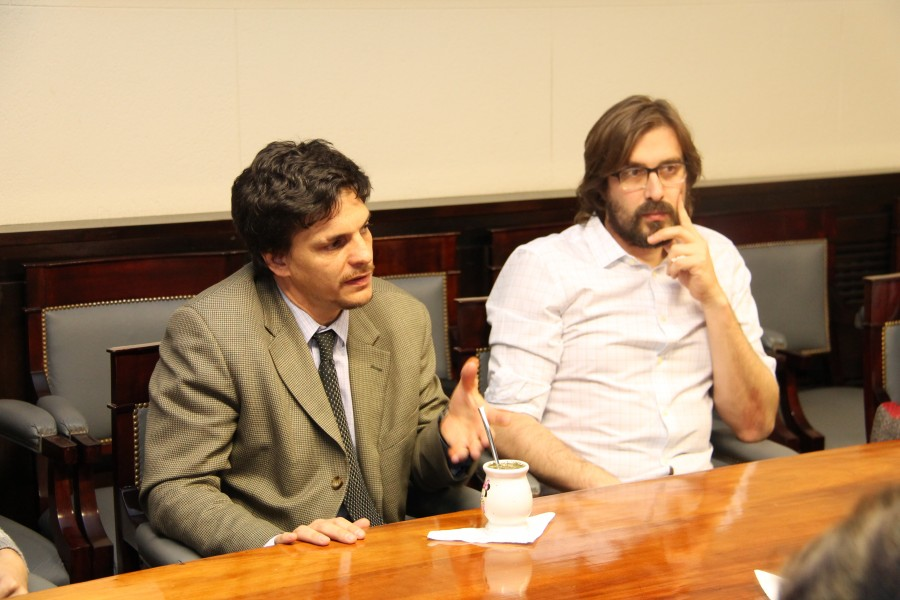 Leonardo Filippini y Martín Sigal