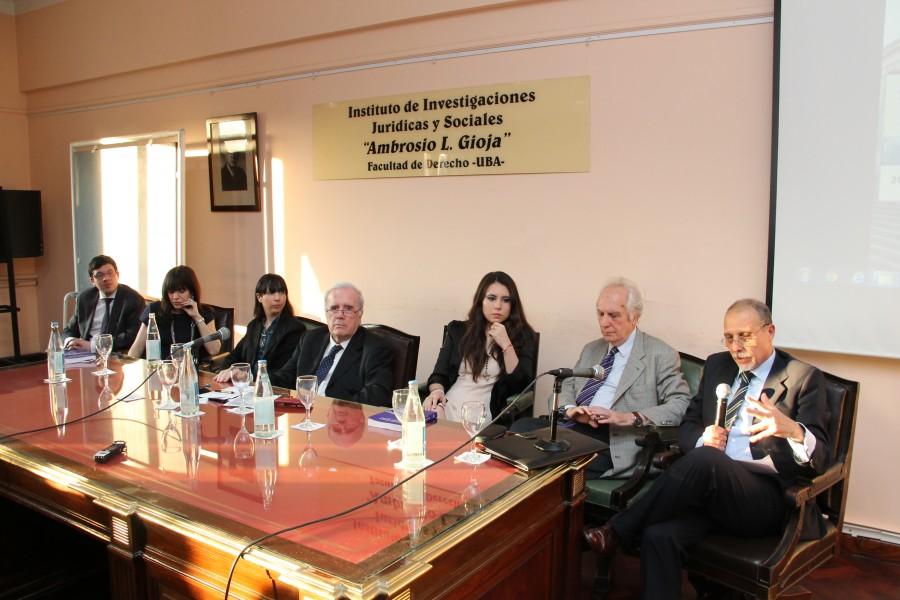 Martín Testa, Luciana Scotti, Verónica Lescano Galardi, Tulio Ortiz, Estefanía Cuello, Eduardo Barbarosch y Raúl Arlotti