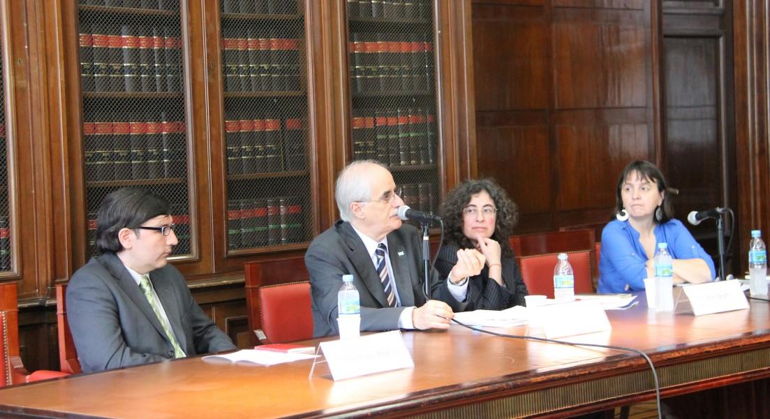 Guillermo Ruiz, Jorge Taiana, Mary Beloff y Nancy Cardinaux
