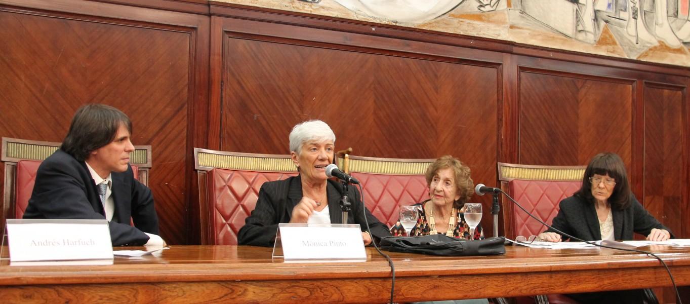 Andrés Harfuch, Mónica Pinto, Cecilia Grosman y Lucila Larrandart