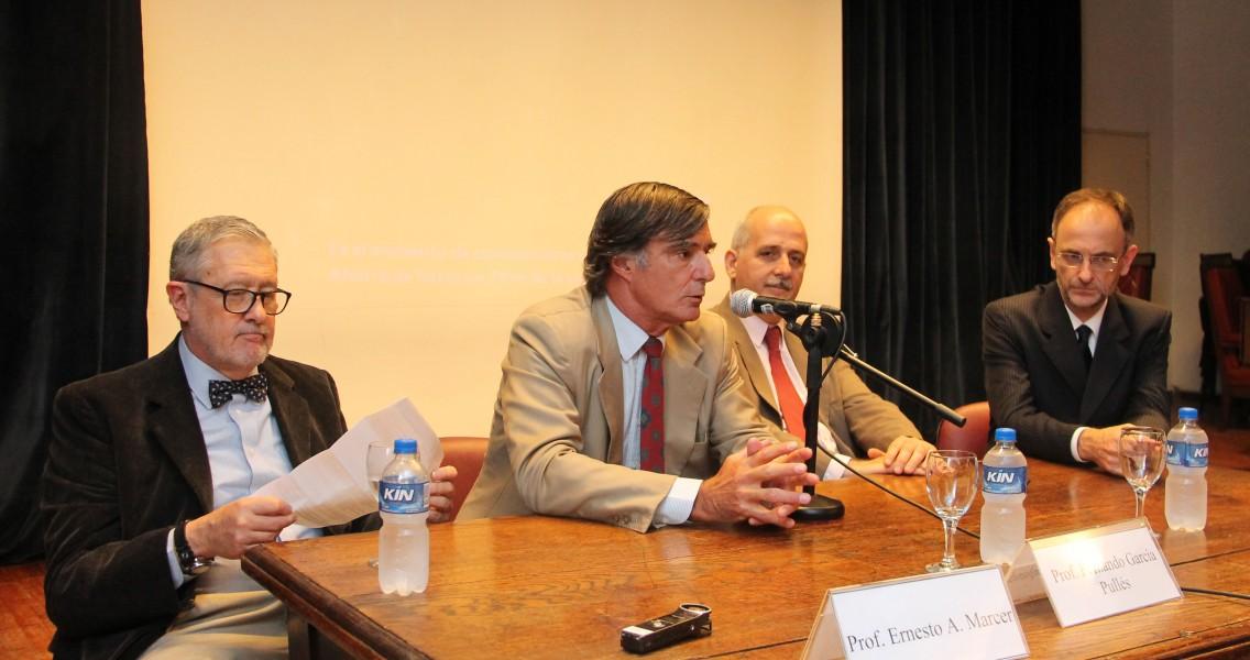 Ernesto A. Marcer, Fernando R. García Pullés, Guido S. Tawil y Carlos F. Balbín