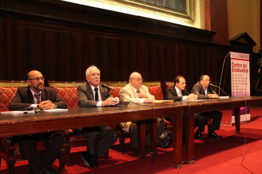 Javier Santamaria, Jorge L. Kielmanovich, Oscar Ameal, Carlos Fernando Salmaso y Oscar Zoppi