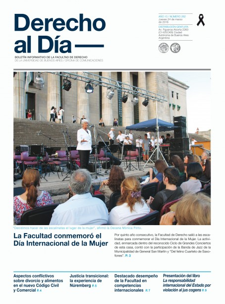 Tapa de Derecho al Día - Edición 262