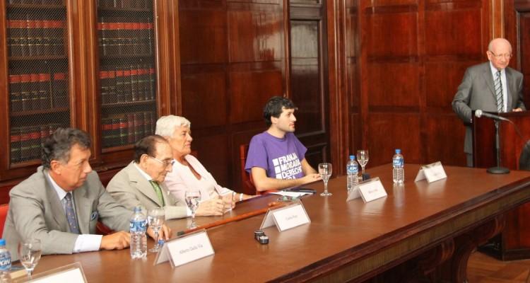 Alberto Dalla Via, Carlos S. Fayt, Mónica Pinto, Facundo Ríos y Félix Loñ