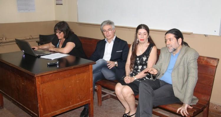 Mercedes Assorati, Rubén Donzis, Isabel González Nieves y Ricardo Rabinovich-Berkman