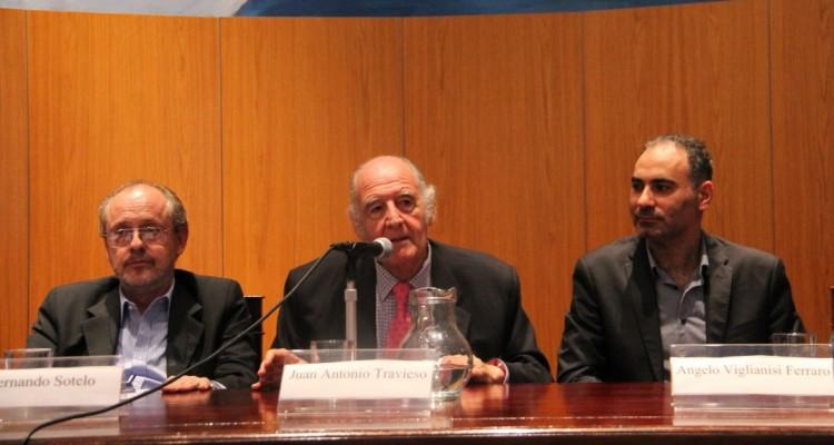 Fernando Sotelo, Juan Antonio Travieso y Angelo Viglianisi Ferraro