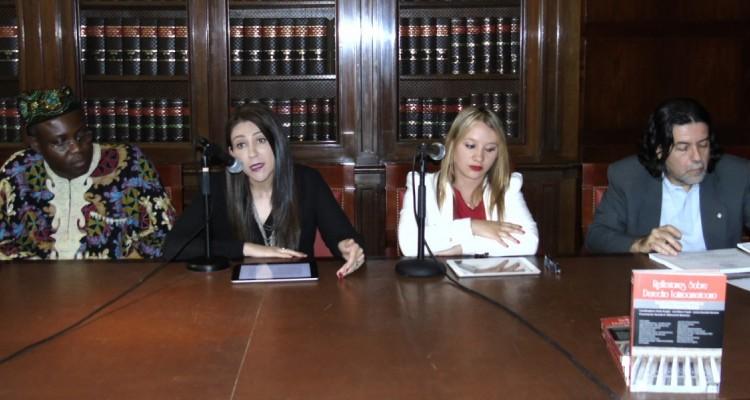 Godwin Nnaemeka Uchego, Libia Fernanda Rivas Ordóñez, Nathalia Chacón Triana y Ricardo Rabinovich-Berkman