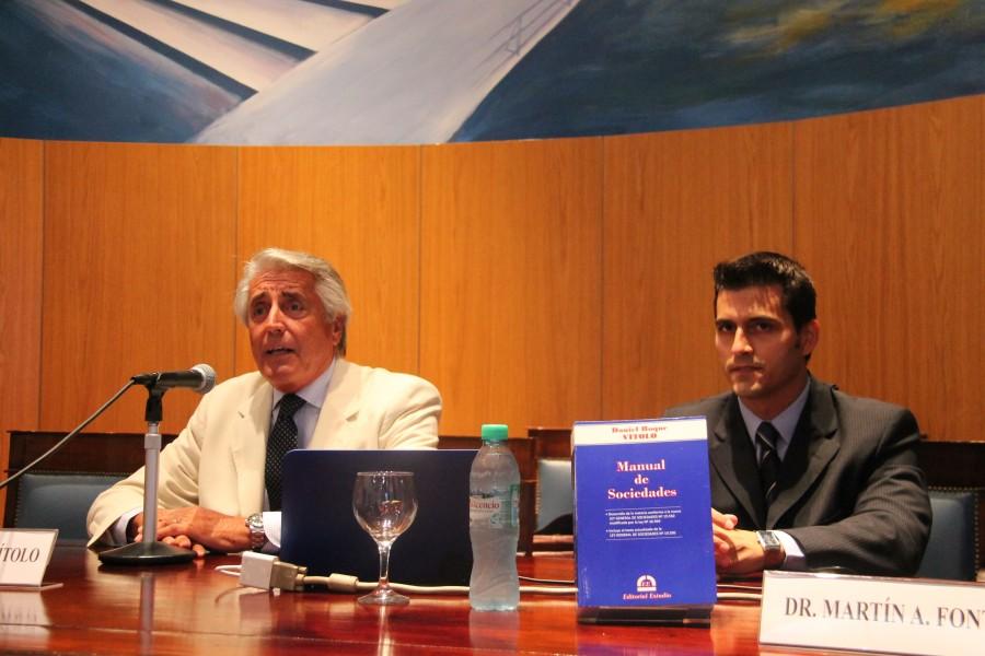 Daniel Roque Vítolo y Martín Font