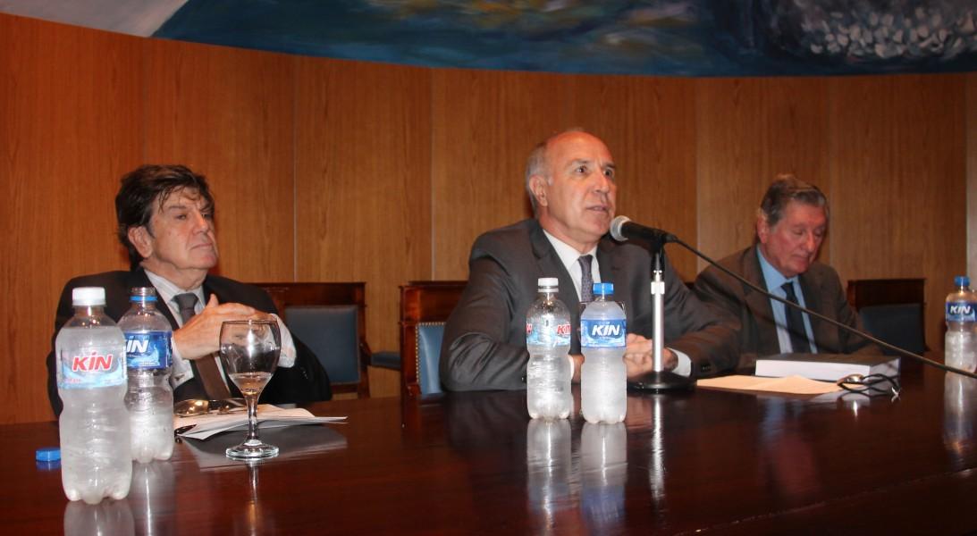 Juan Vicente Sola, Ricardo Lorenzetti y José Claudio Escribano
