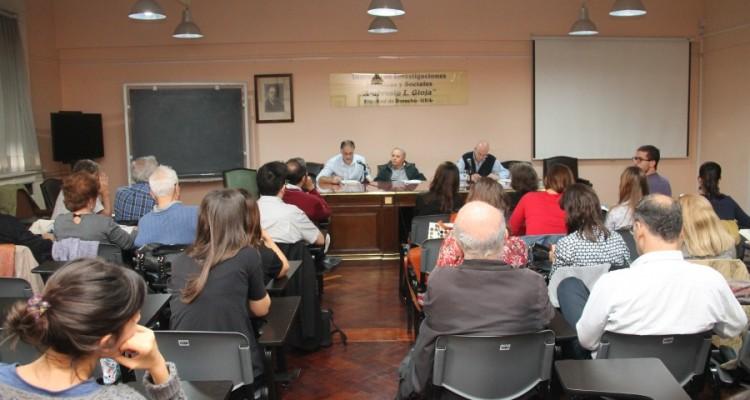 Presentación del libro Hora de Balance: Proceso de Acumulación, Mercado de Trabajo y Bienestar. Argentina 2002-2014