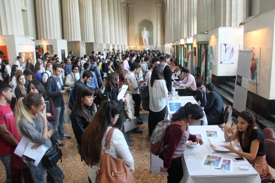 La Facultad llevó a cabo una nueva edición de la Feria de Empleos