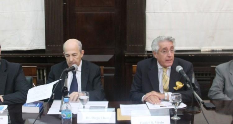 Hernán Adrián Gómez, Diego Chami, Daniel R. Vítolo y Hugo Ricardo Acha