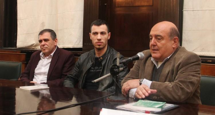 Ana Arzoumanian, Hovhannés Yeranyan, Raz Xachatryan y Roberto Malkassian