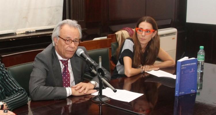 María Victoria Pellegrini, Carlos Arianna y Marisa Herrera