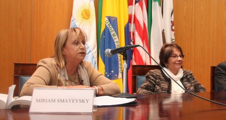 Miriam Smayevsky, Lily Flah, Eduardo Molina Quiroga y Liliana Abreut