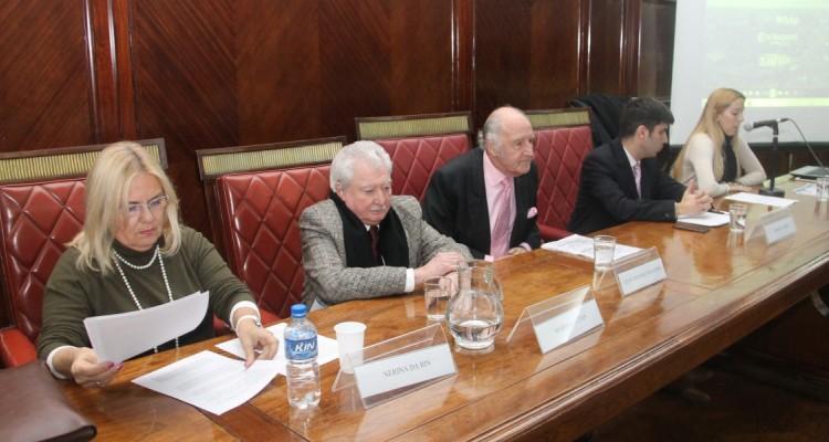 Nerina Da Rin, Mario Mactas, Juan Antonio Travieso, Germán Campi y Yamila Logiovine