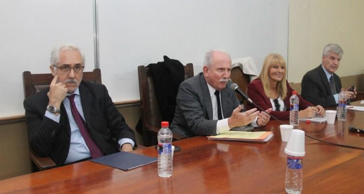 Víctor Trionfetti, Jorge Kielmanovich, Silvia Guahnon y Francisco Brischetto