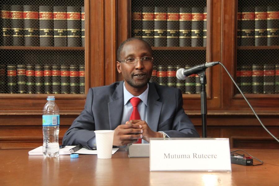 Encuentro con Mutuma Ruteere, relator de la ONU sobre racismo