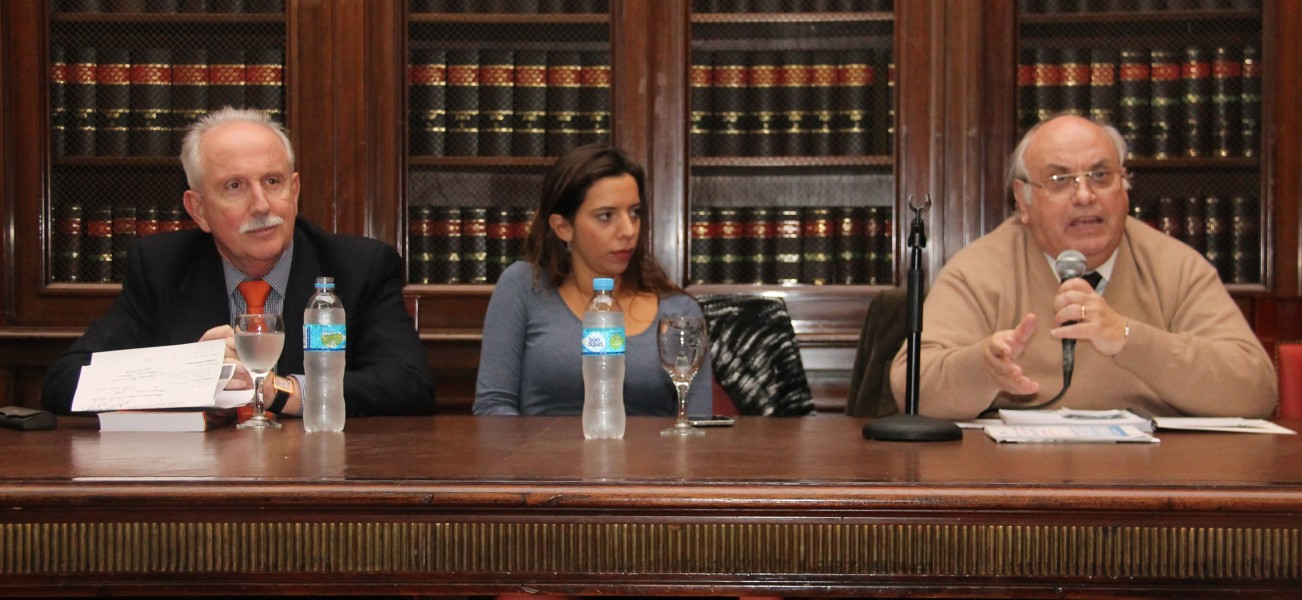 Jorge L. Kielmanovich, Silvina Pequeux y Oscar Ameal