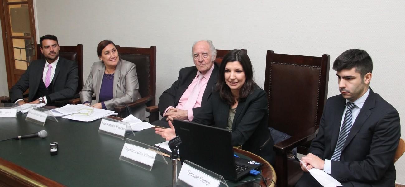 Lautaro M. Ramírez, Silvina González Napolitano, Juan Antonio Travieso, Magdalena Bas Vilizzio y Germán Campi