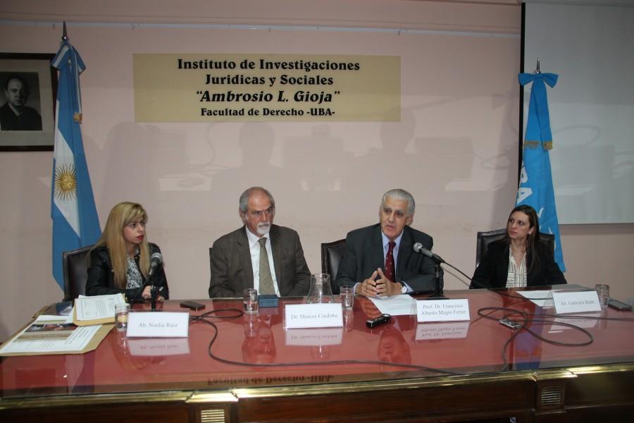 Noelia Ruiz, Marcos M. Córdoba, Francisco Alberto Magin Ferrer y Gabriela Butti