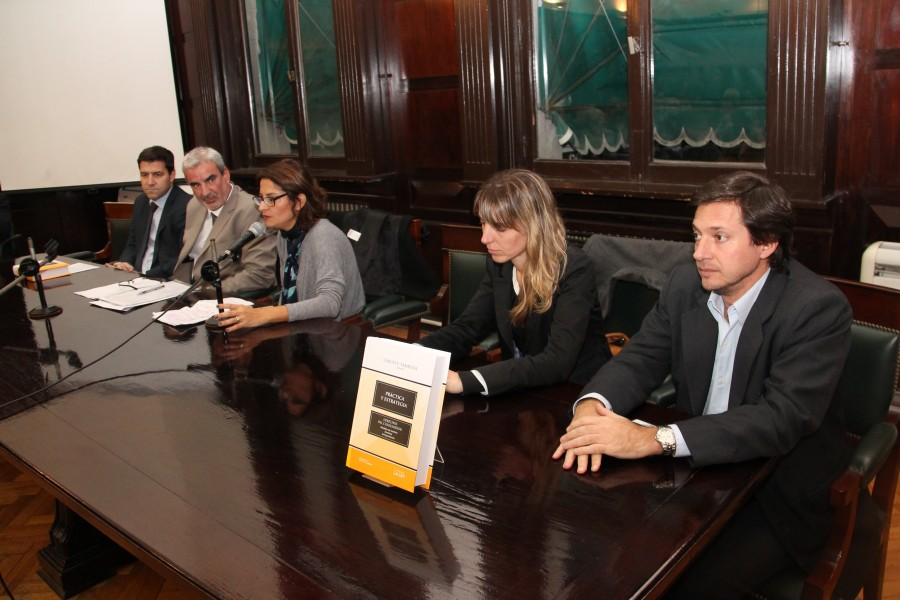 Carlos Calvo Costa, Carlos Eduardo Tambussi, Fabiana Schafrik, Silvina Alonso y Fernando Blanco Muiño