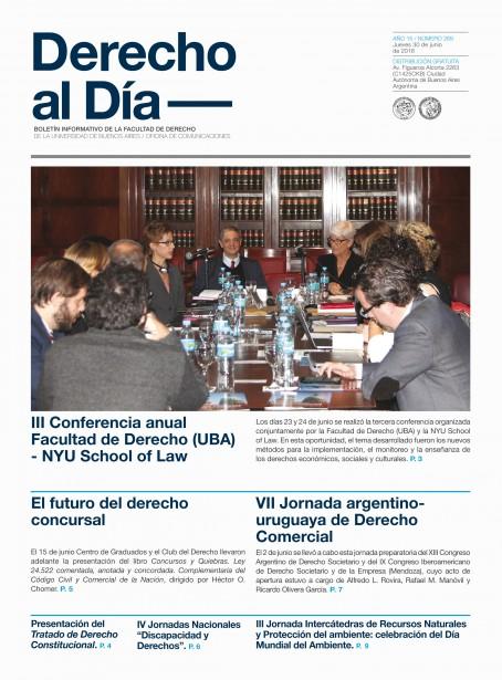 Tapa de Derecho al Día - Edición 269