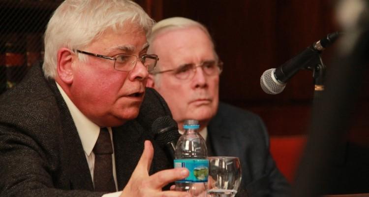Luis Alberto Romero y Tulio Ortiz