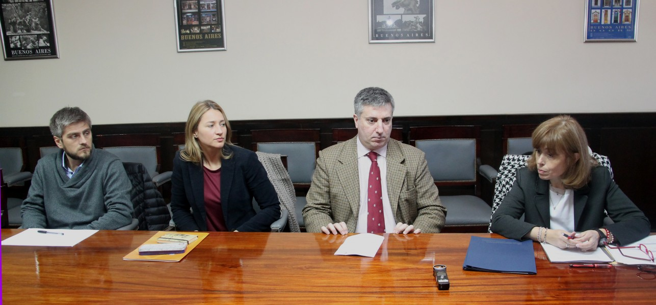 Matías Crolla, María Eugenia Marichal, Juan Sluman y Sandra C. Negro