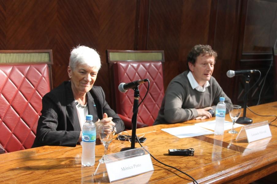 Mónica Pinto y Leonardo Pitlevnik