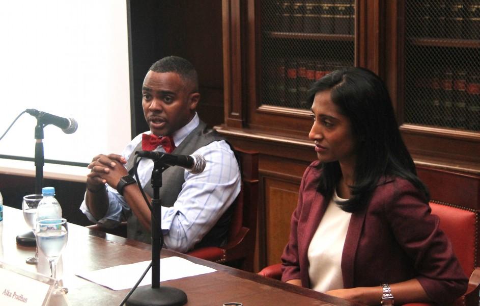 Mayor Raashid Williams y Alka Pradhan
