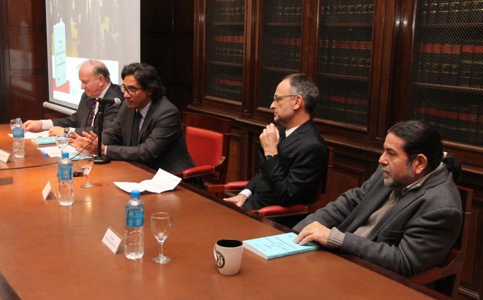 Daniel Sabsay, Germán Garavano, Carlos F. Balbín y Ricardo Rabinovich-Berkman