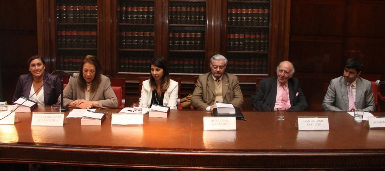 Silvina González Napolitano, Elsa Margarita Álvarez Rúa, Aldana Rohr, Horacio R. Granero, Juan A. Travieso y Germán Campi