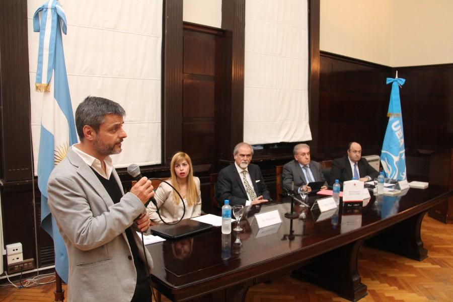 Gonzalo Alvarez, Noelia Ruiz, Marcos M. Córdoba, Jorge Berbere Delgado y Osvaldo Pitrau