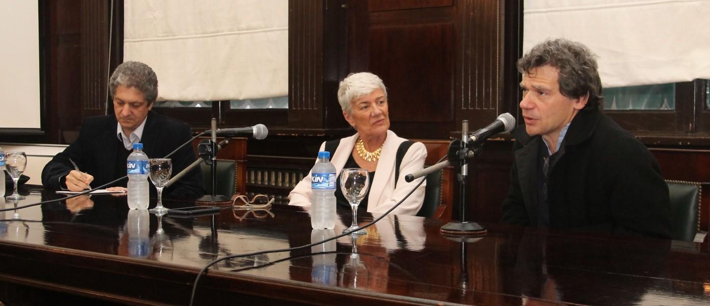 Marcelo Alegre, Mónica Pinto y Roberto Gargarella