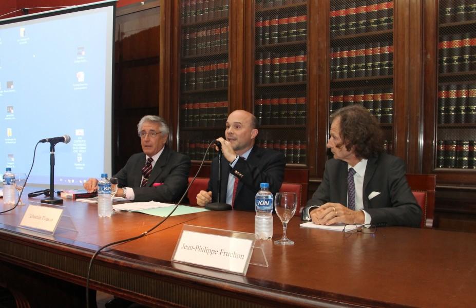 Daniel R. Vítolo, Sebastián Picasso y Jean-Philippe Fruchon