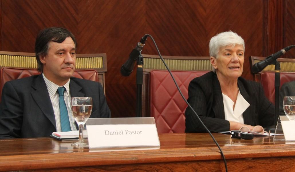 Daniel Pastor y Mónica Pinto