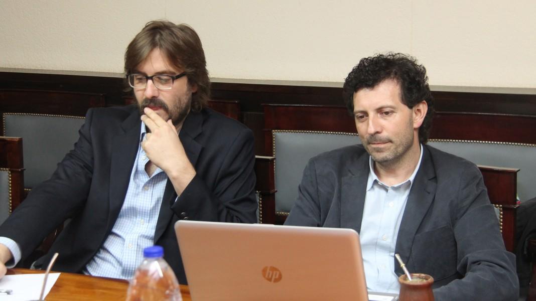 Martín Sigal y Gustavo Maurino