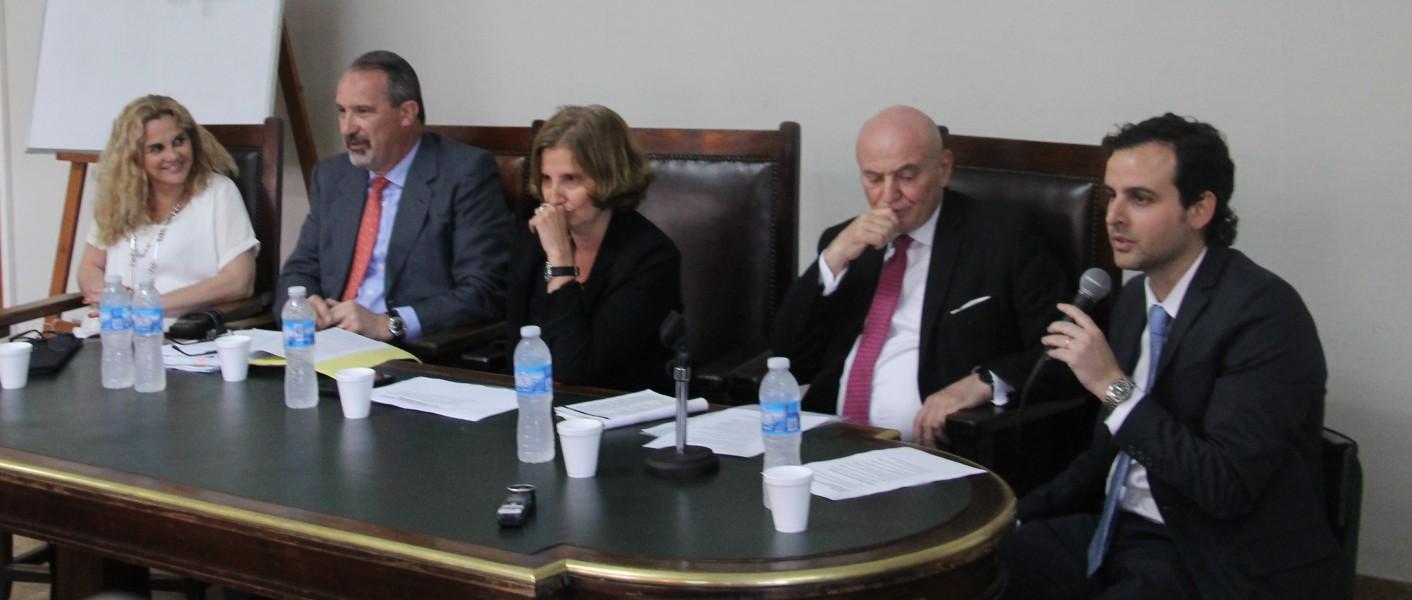 Silvina E. Coronello, José María Sferco, Agustina O'Donell, Alberto Tarsitano y Diego Andrejin