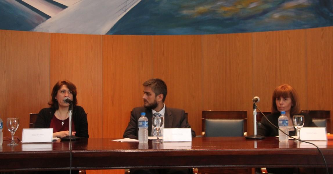 Alejandra Díaz, Matías Crolla y Sandra C. Negro