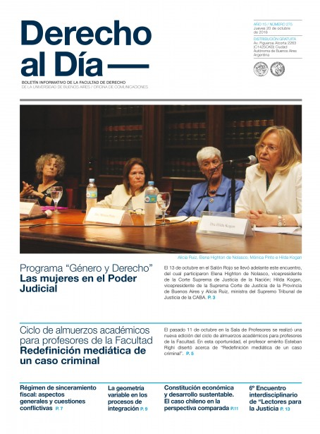 Tapa de Derecho al Día - Edición 275
