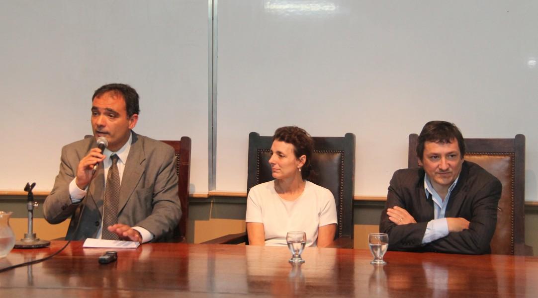 Juan Antonio Seda, Valentina Delich y Andrés Delich