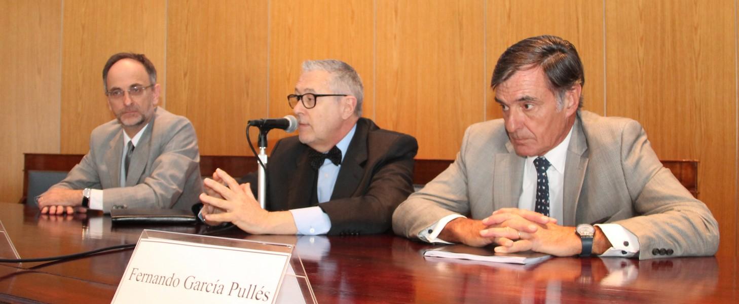 Carlos Balbín, Ernesto A. Marcer y Fernando García Pullés