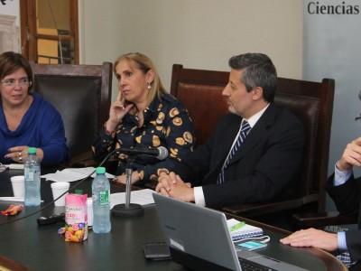 María de las Victorias González Silvano, Sandra Matisievich, Mario Villar y Matías Michenzzi