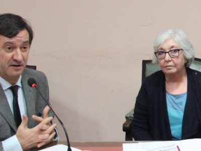 Daniel Pastor, María Laura Garrigós de Rébori, Horacio Días, Adrián Martín y Silvina Alonso