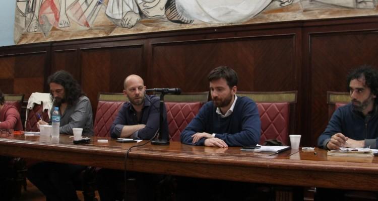 Diego Ferreiro, Hernán Ulm, Federico Winer, Christian Kessel y Gonzalo Aguirre