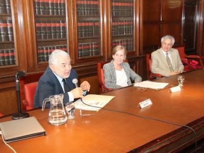 Sergio García Ramírez, Susana Albanese y Osvaldo A. Gozaíni